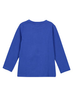 Kobaltblaues T-Shirt. GOBLATEE1 / 19W902S2TMLC209