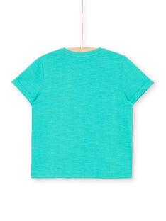 T-shirt kurze Ärmel grün Kind Junge LOBONTI6 / 21S902W1TMC600