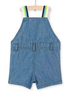 Baby Junge kurze Denim-Overalls LUBONSAC / 21SG10W1SACP272