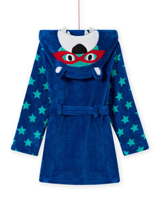 Baby Boy's Blue Bear Print Morgenmantel MEGOROBOURS / 21WH1281RDC702