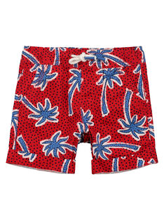 Bermuda-Shorts mit Palmen-Print für Jungen FOTOBER1 / 19S902L1BERF505