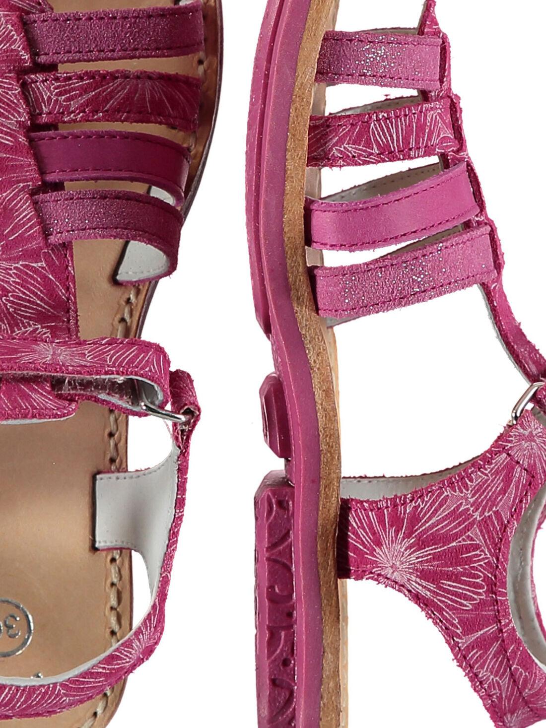 Sandalen mit mehreren Riemchen für draußen Mädchen