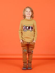 Baby Boy's Camouflage-Jogginghose mit Fahrzeug-Stickerei MOCOJOG / 21W902L1JGBI806