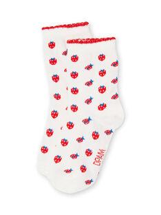 Layette-Socken für Mädchen LYIJOSOQ1 / 21SI0936SOQ001