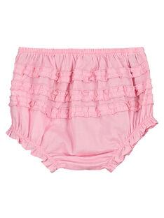 Rosafarbene Baby-Bloomers für Mädchen FIJOBLOO7 / 19SG09G2BLRD303