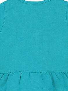 Bestickte Baby-Weste aus Baumwolle für Mädchen FITUCAR2 / 19SG09F2CAR202