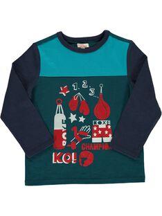 Boy's fancy T-shirt DOTRITEE4 / 18W902D4TML716