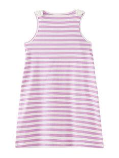 Malvenfarbenes Kleid JASAUROB4 / 20S901Q4ROB326