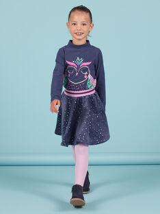 Baby Mädchen marineblau Pailletten Eule Unterhosen MAPLASOUP / 21W901O1SPLC202