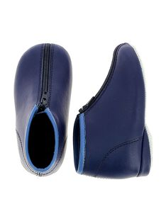 Baby boys' leather slippers CBGBOBEBE / 18SK38X7D0A070