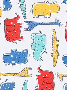Langarm-Body für Jungen mit langen Ärmeln mehrfarbige Savannentiere LEGABODSAF / 21SH1429BDL001