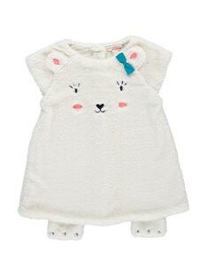Baby girls' faux fur dress DIGIROB2 / 18WG09N2ROB001