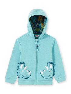 Baby Junge Blau Hoodie LOVERGIL / 21S902Q1GIL204