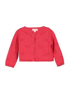 Baby-Weste aus Baumwolle für Mädchen FICOCAR3 / 19SG0983CAR050