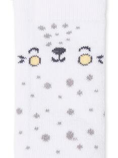 Socken mit Katzenkopf LOU1CHO3 / 21SF42H1SOQ000