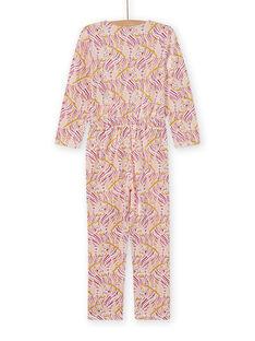 Fancy Print-Schlafanzug für Mädchen MEFACOMBZEB / 21WH1181D4FD322