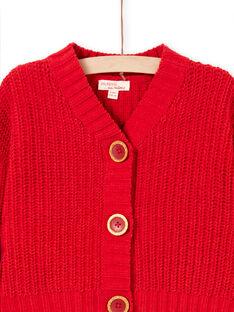 Rote Weste für Mädchen MACOMCAR1 / 21W901L2CAR408