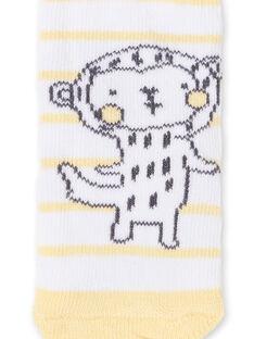 Gestreifte Socken für Affen LOU1CHO2 / 21SF41H1SOQ000