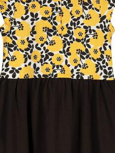 Kurzärmeliges Kleid für Mädchen FALIROB3 / 19S90124ROB099