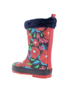 Girls' wellies DFBPMATRI / 18WK35V1D0C070