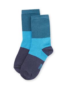 Baby Junge blaue Socken MYOJOCHOC4 / 21WI0216SOQ714