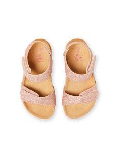 Rosa Sandalen Baby Girl LFNUGOLD / 21KK3556D0EK009