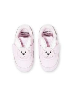 Baby Mädchen hell rosa Turnschuhe JBFFU6659 / 20SK37Y1D36301