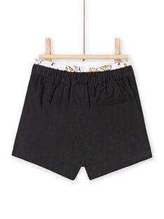 Baby Mädchen anthrazit Samt Shorts LIPOESHO / 21SG09Y1SHOJ916