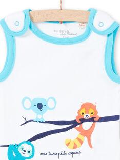 Baby Boy's Tier drucken ärmellose Bodysuit LEGABODAMI / 21SH14G2BDL000