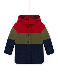 Hooded Farbe Block Jacke Kind Junge MOGRODOU1 / 21W90251D3E505