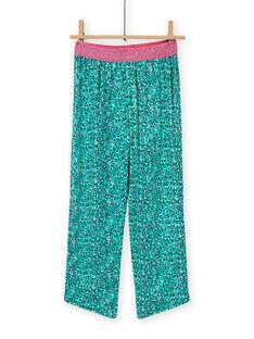Fancy Krokodil-Pyjama-Set für Mädchen MEFAPYJCRO / 21WH1182PYJ001