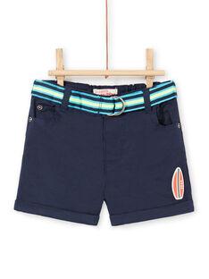 Baby Junge marineblau Bermuda Shorts LUBONBER3 / 21SG10W2BER717