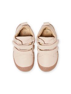 Baby Mädchen hellrosa Leder Booties MIBOTIFLEXFI / 21XK3751D0F030