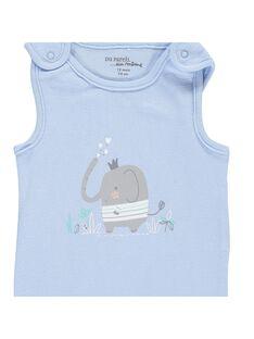 Boys' sleeveless bodysuit CCGBODY2 / 18SF04C1BOD020