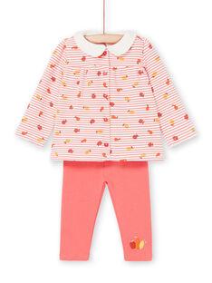 Baby Mädchen Bluse & Leggings Komfort Set LINAUENS2 / 21SG09L1ENS318