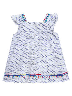 Baby-Kombination aus Kleid und Bloomers aus Jersey für Mädchen JIMARENS1 / 20SG09P1ENS000