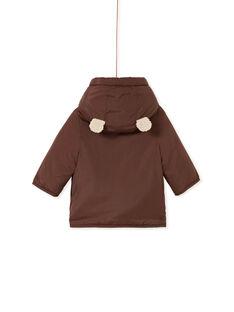 Brown PARKA KUGROPAR / 20WG10J1PARI808