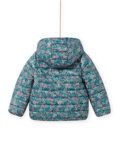 Wendekapuzenjacke für Mädchen mit Blumendruck MAKADOUNE / 21W90152D3E612