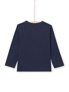 Baby Boy Langarm-T-Shirt mit tunesischem Kragen MOJOTUN1 / 21W90212TML705