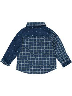 Baby boys' fancy shirt DUBLECHEM / 18WG1091CHM099