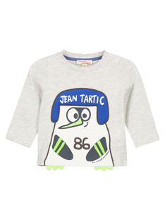Grey T-shirt GUBLATEE1 / 19WG10S1TMLJ906