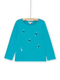 blaues T-shirt LAJOTEE4 / 21S90133D32C216