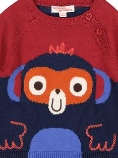 Baby-Strickpullover für Jungen FUBAPUL / 19SG1061PULF509