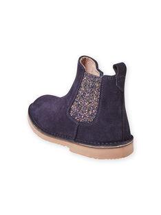 Marineblaue Stiefel für Mädchen MABOOTMAR / 21XK3574D0D070