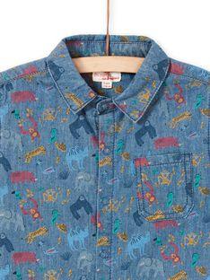 Kurzarm-Shirt für Jungen LOVICHEM / 21S902U1CHM721