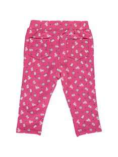 Baby girls' fleece trousers DIROUPAN2 / 18WG0922PAN099