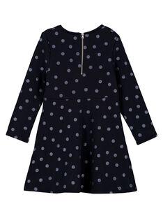 Marineblaues Kleid GAJOLROB1 / 19W901L3D2F070