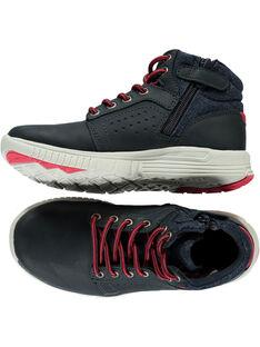 Marineblaue Sneakers Kind Jungen GGBASOLE / 19WK36I3D3F070
