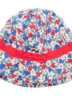 Kinderhut mit Blumenmuster für Mädchen JYAJAHAT2 / 20SI01B2CHA001