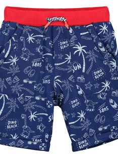 Bermuda-Shorts aus Fleece für Jungen FOTOBER4 / 19S902L4BERC204